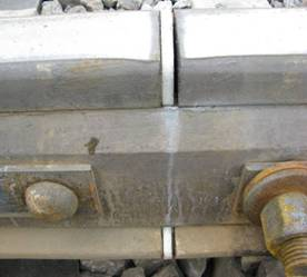 View of joint connection